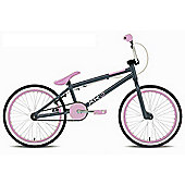 "Rooster XR3 Girls 20"" Wheel Freestyle BMX Bike Grey/Pink"