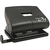 Rapesco Eco Medium 2- Hole Punch Capacity 20 Sheets Black 1086
