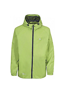 Trespass Boys Qikpac Waterproof Packaway Jacket - Green