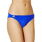 F&F Luxury Fold-Over Bikini Briefs - Cobalt blue