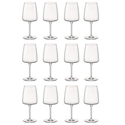 Bormioli Rocco Planeo Clear Stemmed Wine Glasses - 540ml - Pack of 12