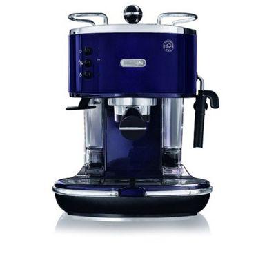 DeLonghi Icona Pump Espresso Coffee Machine in Aubergine