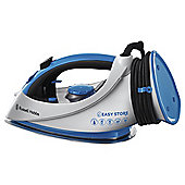 Russell Hobbs 18616 Stainless Steel Plate Steam Iron - Blue & White