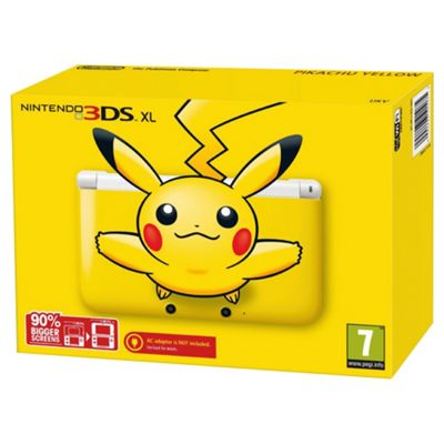 Nintendo 3DS XL - Pikachu Yellow Limited Edition