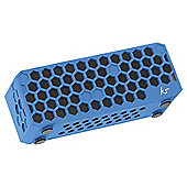 Kitsound Hive Bluetooth Speaker Blue