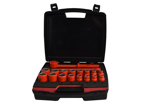 ITL Insulated Insulated Socket Set of 19 1/2in Drive