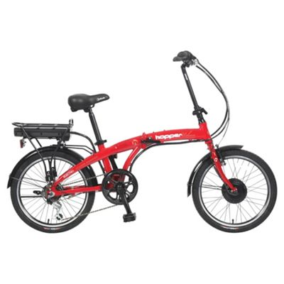 Hopper Urban Electric Bike, Burgundy