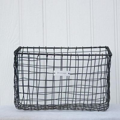 We no longer sell this product. Buy Zinc Wire Storage Basket from our Storage Baskets   Bags range