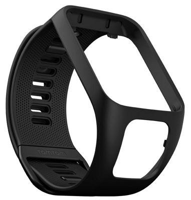 Tomtom Smart Watch 3 Strap-9UR0.000.09│For Golfer 2, Runner 2, 3 Spark 3 Adventurer │Black-Small
