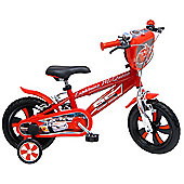 DISNEY Cars 12 inch Wheel Red Kids Bike.