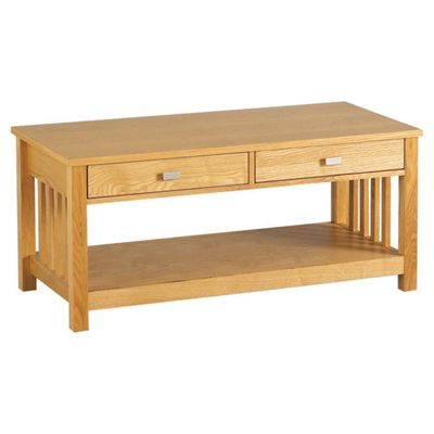 Home Essence Whitby Two Drawer Coffee Table