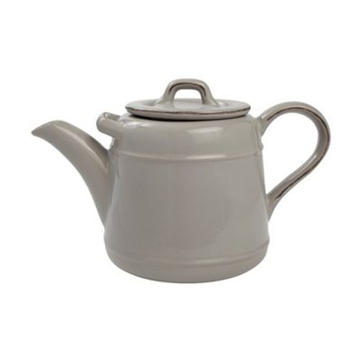 T&G Woodware Pride of Place Ceramic Teapot 1.5l in Cool Grey