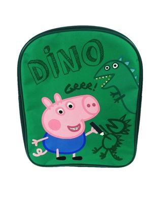 Peppa Pig 'George' Dino Pv School Bag Rucksack Backpack