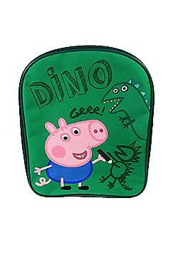 Peppa Pig 'George' Dino Pv School Bag Rucksack Backpack