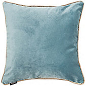 McAlister Duck Egg Blue Matt Velvet Cushion Cover - 43x43cm