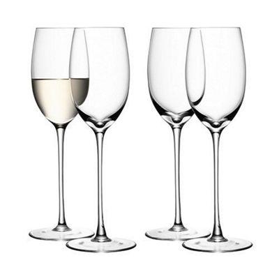 LSA International Set of 4 White Wine Glasses 340ml G939-12-991