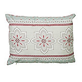 Dreams n Drapes Shantar Pink Cushion Cover - 28x38cm