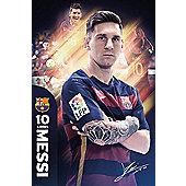 Barcelona FC Barcelona Messi BFC Poster