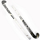 Mazon Black Magic Fusion Junior Hockey Stick 35.5 with White Handle