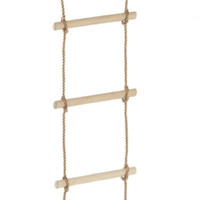 Wickey Rope Ladder 10 Wooden Rungs Climbing Nets