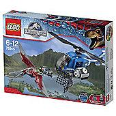 LEGO Jurassic World Pteranod on Capture 75915