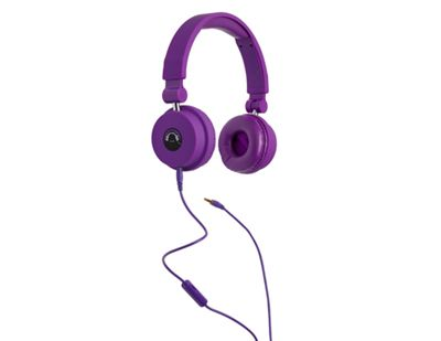 Tinc Big Boom Foldable Extending Headphones - Purple