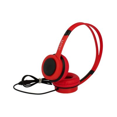 MiTEC Easy Headphones Red