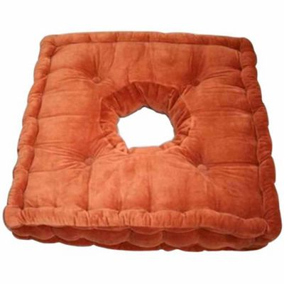 Homescapes Cotton Comfort Armchair Booster Cushion Terracotta