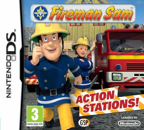Fireman Sam Action Stations (NDS)