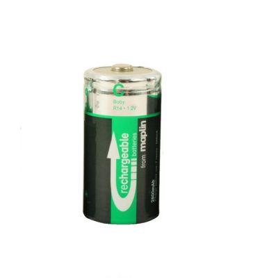 Maplin 2800Mah NiMh Rechargeable C Batteries 2 Pack