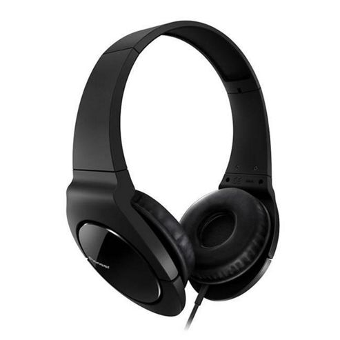 PIONEER HOME DJ ON EAR HEADPHONES EXTREME BASS BLACK #SE-MJ721-K