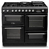 Hotpoint Dual Fuel Cooker with Electric Grill and Gas Hob, CH10456GF S - Anthracite