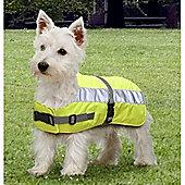 Flectalon Hi Viz Dog Coat 35cm