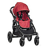 Baby Jogger City Select Stroller (Optional Second Seat) - Red