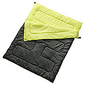 Tesco 200gsm Double Sleeping Bag Black
