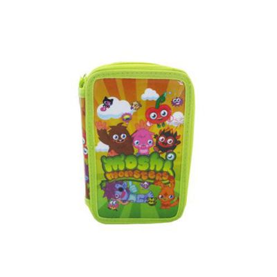 Moshi Monsters Double Tier Filled Pencil Case