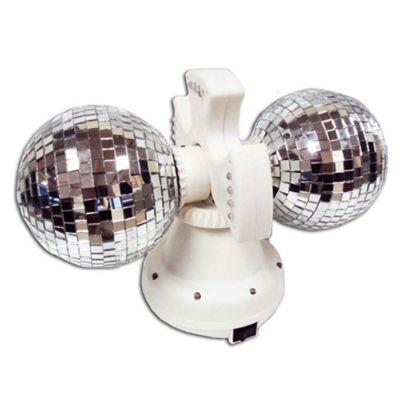 Twin Disco Balls