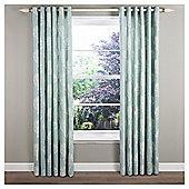 """Woodland Eyelet Curtains W229xL229cm (90x90"""") - Duck Egg"""