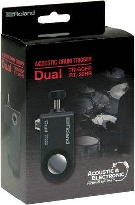 Roland RT-30HR Acoustic Dual Drum Trigger For Snare Drums