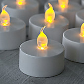 Set of 6 Battery Operated Flickering LED Tea Lights