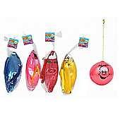 4 x Fruity Scented Balls With Keyring