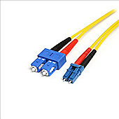 StarTech 1m Single Mode Duplex Fiber Patch Cable LC-LC