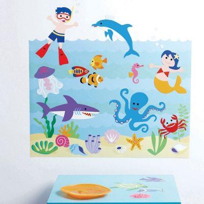 Kids Aquarium Wall Stickers