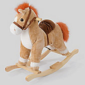 Children's Rocking Horse with Sounds (Beige)