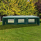 Outsunny Outdoor Garden Gazebo (Green, 9m x 3m)