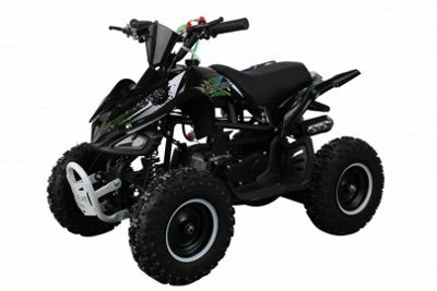 Hawkmoto 49cc Street Ninja Kids Mini Off-Road Petrol Quad Bike 2018 Green