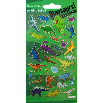 Prismatic Dinosaur Stickers