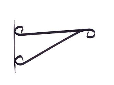 Element Hanging Basket Brackets Black 12in