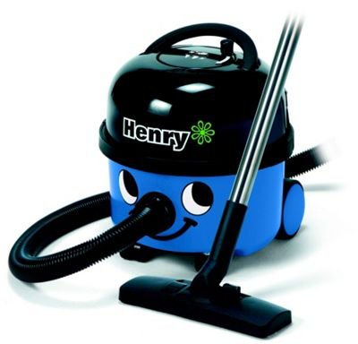Numatic Henry Eco Bagged Cylinder Vacuum Cleaner - Blue.