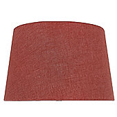 Terracotta 13 Inch Linen Empire Shade (Dual Fitting)